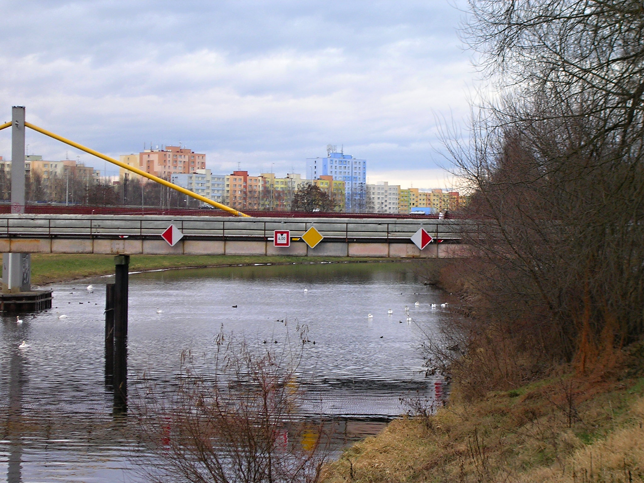 Dopravní značení vltavské vodní cesty