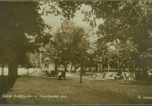 Krumlovská alej (1926)