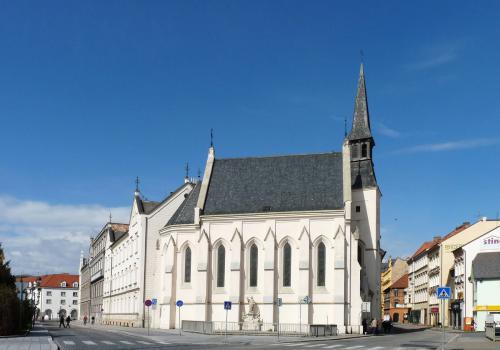 Kostel Svaté Rodiny v Českých Budějovicích. Foto: Jitka Erbenová (21. dubna 2012)