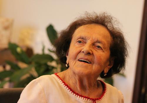 Paní Jarmila Schestauberová.