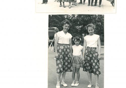 Z rodinného alba paní Schestauberové.