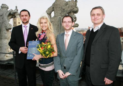 Primátor Juraj Thoma, Česká miss 2011 Jitka Nováčková, náměstkové Petr Podhola a Miroslav Joch