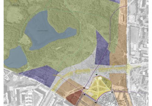 Využití ploch dle územního plánu